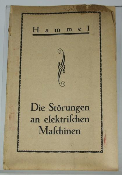 Die-Stoerungen-an-elektrischen-Maschinen-Hammerl-Akademisch-Techn-Verl-FFM